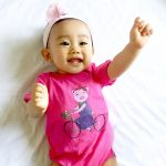 Hot pink baby jumpsuit