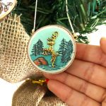 Love the outdoors handpainted ornament